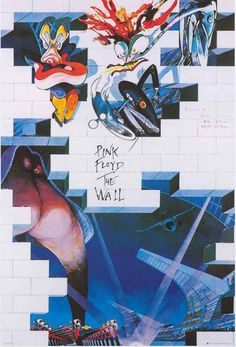 Pink Floyd The Wall Characters Poster 24x34 – BananaRoad