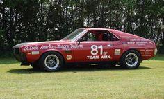 1968 AMC AMX Vintage Race Car