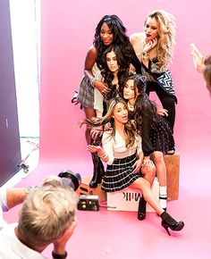 Fifth Harmony's Camila Cabello, Ally Brooke, Normani Kordei, Dinah Jane Hansen, and Lauren Jauregui are the new Candie's models; see the photos Dove Cameron, First Girl, My Girl, Ally Brooke Hernandez, Selena Gomez, Kylie Jenner, Divas, Fifth Harmony Camren, X Factor