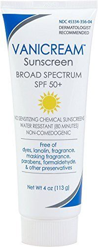 Vanicream SPF 50 Sensitive Sunscreen 4 oz ** You can find out more details at the link of the image.