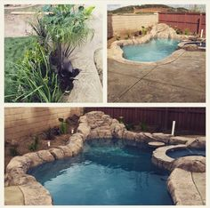 Near Finished product of backyard remodel