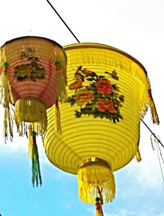 chinese lantern pair
