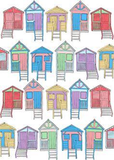 Beach Huts by AH
