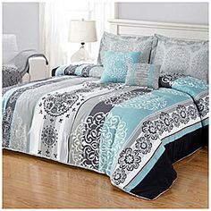 Living Colors™ King 5-Piece Reversible Comforter Sets at Big Lots.