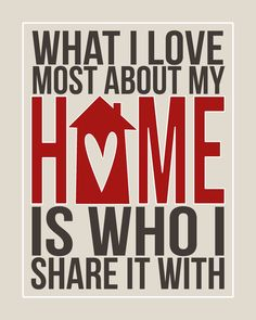 What I love most...