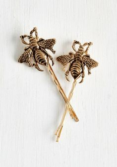Bee hairpins