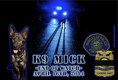 K9 Officer, Police Officer Shot, Fallen Officer, Cop Dog, Police Quotes, Officer Involved Shooting, Military Working Dogs, Fallen Heroes, Thin Blue Lines