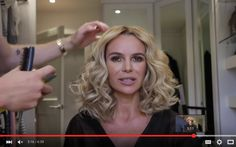 Style: Hair vlog - copy my BGT curls - Official Amanda Holden Website