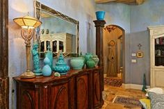 Moroccan Nights - painted vases?