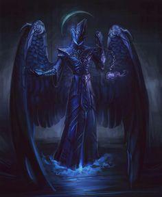 Dark winged creature