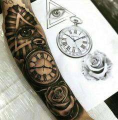 Forearm sleeve tattoos, tattoo sleeve designs, new tattoos, black tatto Dr Tattoo, Forarm Tattoos, Forearm Sleeve Tattoos, Best Sleeve Tattoos, Mom Tattoos, Tattoo Sleeve Designs, Tattoo Designs Men, Body Art Tattoos, Rose Tattoos For Men