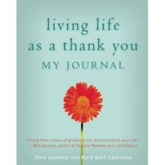 Psych Central is giving away a copy of Living Life as a Thank You: My Journal! Enter before 12/18 to win.