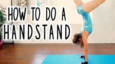 How to Do a Handstand! Beginners Workout- Hand Stand, Flexibility, Gymnastics Follow Along at Home  Coach Joy teaches you how to do a hand stand! Follow along with this workout and stretch routine to improve flexibility in the back-- great for gymnasts and cheerleaders!