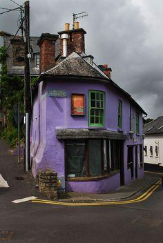 marcelamalkova:    An Amazing House  Kinsale, Ireland  © 2012 Marcela Málková  Facebook page