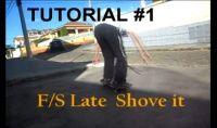 O Canal do youtube Skate in Roça lança uma sequencia de tutoriais de manobras de skate com um pouco de humor, e a trick de hoje é Late F/S Shove It, tente prestar atenção.