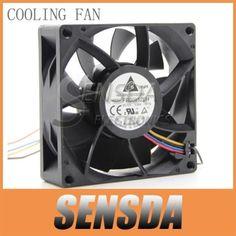 Free Shipping Wholesale Original Delta FFB0812EH 8025 80mm 8CM DC 12V 0.80A violence PWM Server Inverter Cooling fan