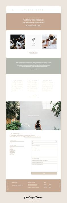 Studio 9 Co Custom Theme Development by Lindsay Humes WordPress, Designer Website, Photography, WordPress Theme