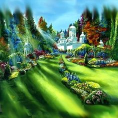 Another photo by Akiane Kramarik. When she was only 4 years old she claims to have visited heaven and this is a painting of it. She said she had an extremely hard time picking the colors cause there are so many colors in heaven that we do not have here on earth.