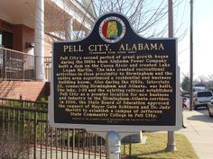 Historic Marker (Pell City, Al. History) Side Two Pell City Alabama, Moving Across Country, Memories Faded, Historical Landmarks, Recreational Activities, Haunted Places, Lake Life, Birmingham, Logan