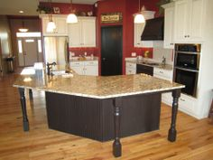 Glazing Painted Kitchen Cabinets | Kitchen, Mapleton, Painted perimeter cabinets, Cameo with Mocha Glaze ...