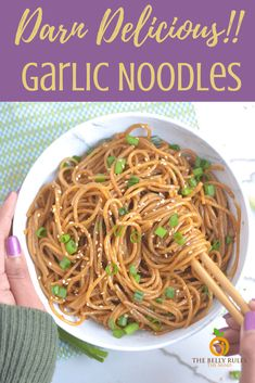 Instant Pot garlic noodles recipe gives you restaurant taste in the comfort of your own home with just 5 Ingredients !The perfect quick lunch or dinner your whole family will love. Make this today and get this Quick no-fuss meal on the table in minutes! Instant Pot Pressure Cooker, Pressure Cooker Recipes, Pressure Cooking, Garlic Noodles Recipe, Vegan Recipes, Cooking Recipes, Easy Recipes, Instant Pot Dinner Recipes, Vegetarian