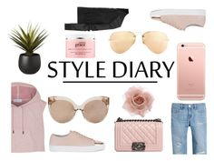 """""""Style Diary"""" by ashola18 ❤ liked on Polyvore featuring adidas, White House Black Market, Axel Arigato, Chanel, Linda Farrow, CB2, Rick Owens, Accessorize, Ray-Ban and philosophy"""