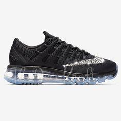 Custom Bling Womens Nike Air Max 2016 Swarovski Crystal Bling Sneakers 106a44de9