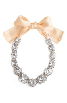 kate spade necklace...love, especially the bow!!