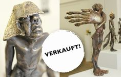 Großes Interesse für Skulpturen » Es ist schön zu sehen, dass die Skulpturen des jungen Bildhauers T ...