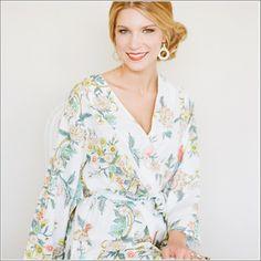 Kimono Style Robe. Knee Length. Beckoning Creatures. - Plum Pretty Sugar