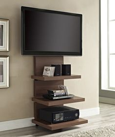 Beautiful Furniture Under Wall Mounted Tv