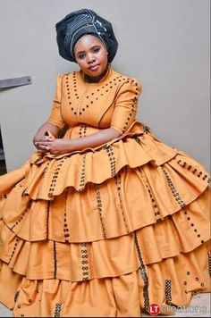 We have the latest modern Xhosa dresses online on Sunika. Discover Top Xhosa dresses designers in South Africa for your next outstanding Xhosa Wedding dress. South African Dresses, South African Traditional Dresses, African Wear Dresses, African Wedding Dress, Latest African Fashion Dresses, African Print Fashion, African Attire, Traditional Outfits, Traditional Wedding