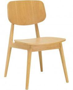 Cadeira de Jantar Geneva Natural - 2 unidades