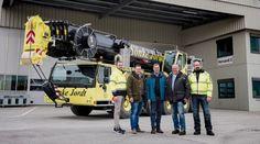 Sönke Jordt expands fleet with a Liebherr LTM 1250-5.1 mobile crane