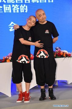 """Director Xu Zheng and actor Bao Bei'er attend press conference for """"Lost in Hong Kong"""" in Beijing, China, July 27, 2015. The movie is expected to hit the screens on Sept. 25.  http://www.chinaentertainmentnews.com/2015/07/lost-in-hong-kong-holds-press.html"""