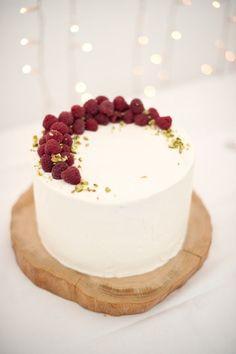 raspberry cake.