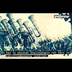 *Stalinorgeln var ett Sovjetiskt artellerisystem under andra världskriget #orgel #trombon #stalinorg - villfarelser