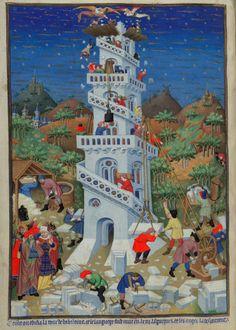 Meester van de Gouden Legende van München: De toren van Babel