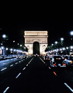 Paris, France | the Arc de Triomphe stands in the centre of the Place Charles de Gaulle at the western end of the Champs-Élysées
