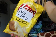 """""""Want some chips?"""" """"Sure!"""" *give above bag to female* boomshakalaka"""
