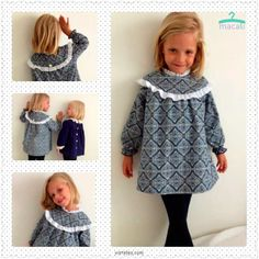 Avance Macali Baby Patterns, Dress Patterns, Girly Girl, My Girl, Winter Dresses, Summer Dresses, Kids Outfits, Cute Outfits, Girls Dresses