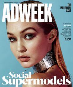 Gigi Hadid Covers Adweek