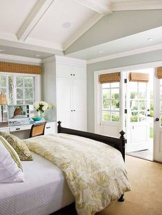 bright and open bedroom