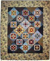 Eleanor's Jewel; A Patchwork Quilt - pieced quilt PATTERN - Lori Smith