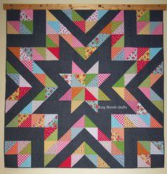HST star quilt!