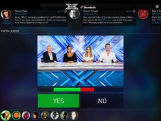 Do you enjoy keeping connected to The X Factor within their tablet app?