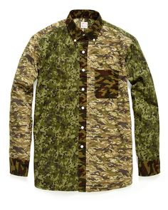 Camouflage Sportshirt by Hamilton 1883 X Project Wooster