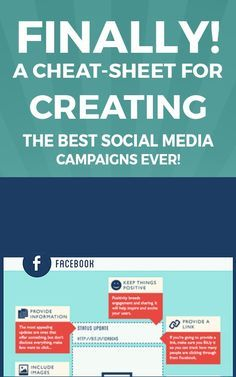 FINALLY! A Cheat-Sheet for Creating the Best Social Media Campaigns EVER!