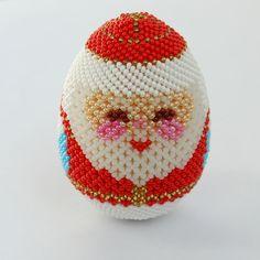 Оплетенные яйца   biser.info - всё о бисере и бисерном творчестве