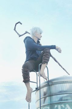 """""""Rise of the Guardians"""" - Jack Frost by liui-aquino. Epic Cosplay, Disney Cosplay, Amazing Cosplay, Cosplay Ideas, Anime Cosplay, Halloween Cosplay, Halloween Costumes For Kids, Cosplay Costumes, Disney Pixar"""